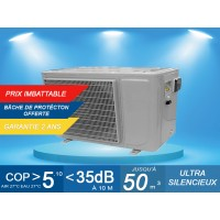 Pompe à chaleur EcoPAC8 - 8.7 kW + bache de protection