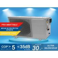 Pompe à chaleur EcoPAC 4 - 3.8 kW + bâche de protection