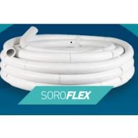 """Tube PVC Souple """"SOROFLEX"""" 50 mm De Diamètre - Longueur 25 m"""