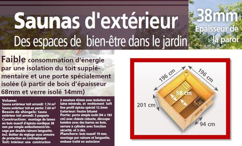 Liste d 39 anniversaire de ambre o tatouage tournant for Sauna exterieur toit plat