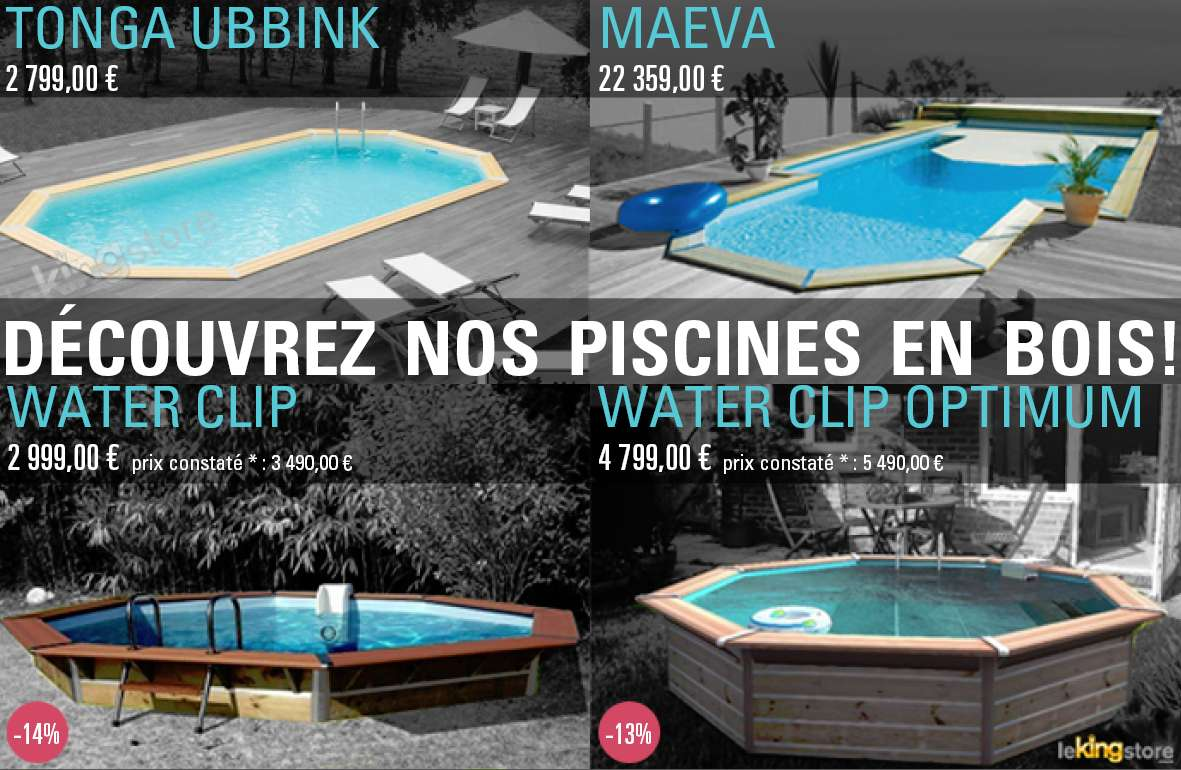 Piscines bois 4 photos