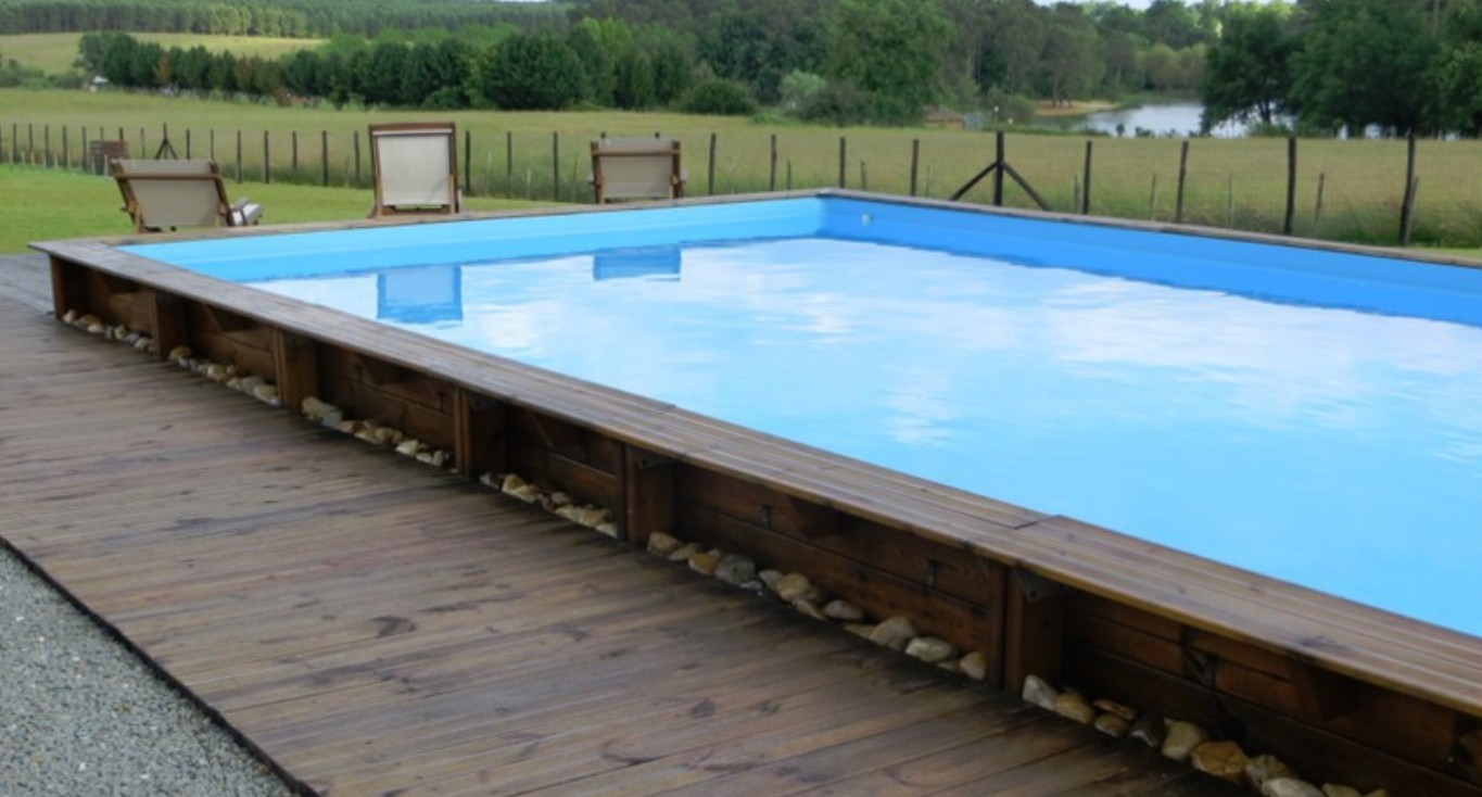 Volet roulant piscine semi enterree for Destockage piscine bois semi enterree