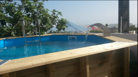 Cascade piscine inox 316 birdy led au meilleur prix piscineindustrie - Prix d une piscine inox ...