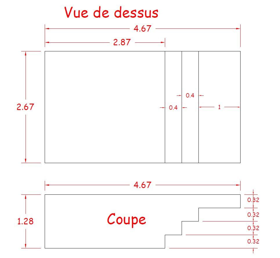Ventilation Sous Sol Semi Enterré piscine bois luxe rectangulaire avec plage immergée + escalier 520x320x131cm