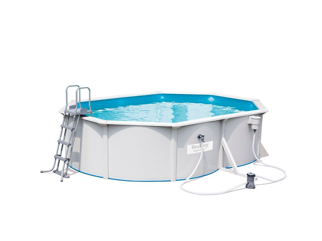 Piscine tubulaire ovale steel wall pool best way hydrium for Piscine tubulaire petit prix