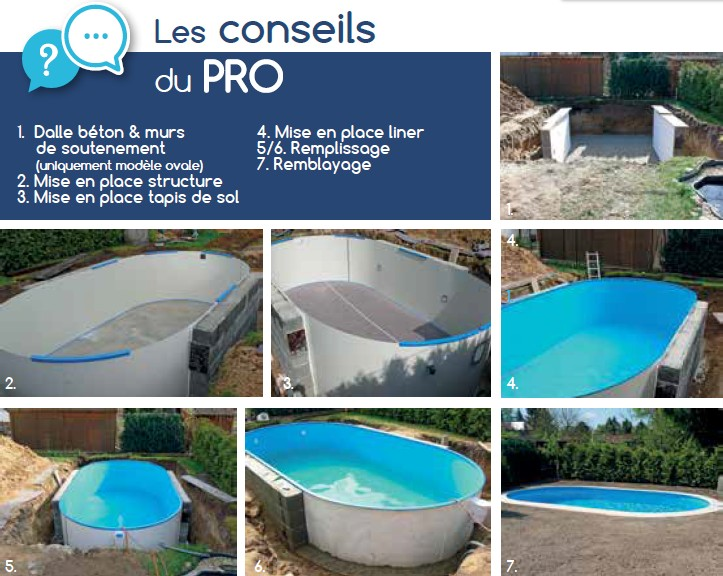 Piscine elsa piscine eva l 7 x l x h enterree for Fournisseur liner piscine